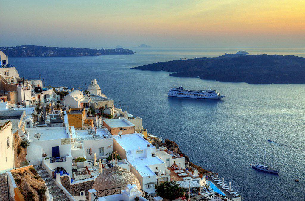 На море в Грецію